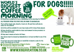 World's Biggest Coffee Morning - For Dogs