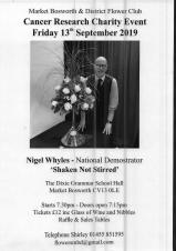 Nigel Whyles Flower Arranging Demonstration